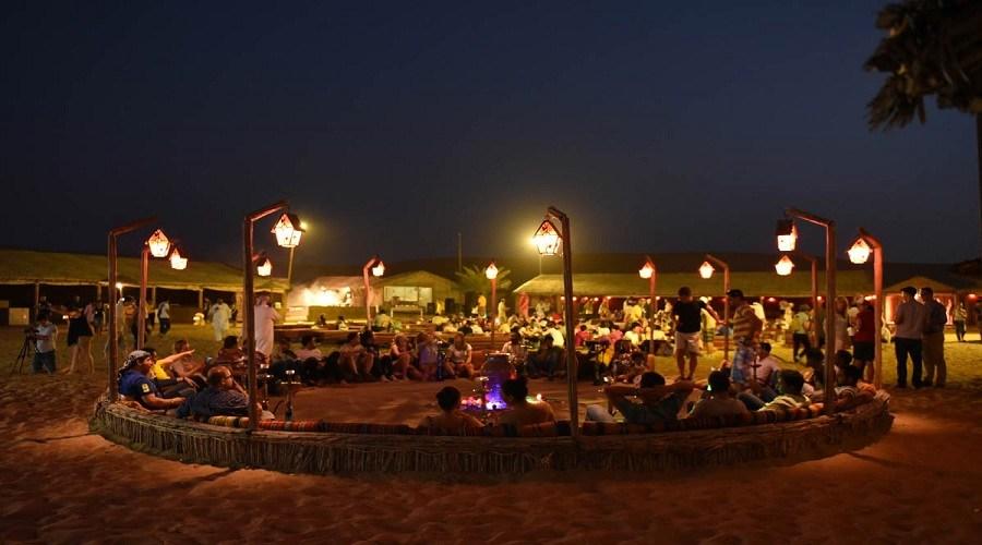 evening desert safari, vip tour camp
